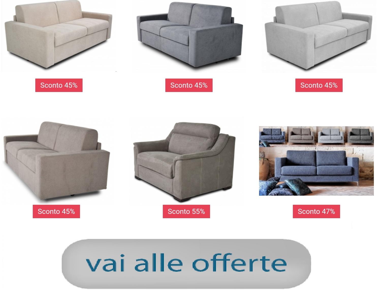 Divani Letto Angolari Offerte.Divani Store Vendita On Line Divani E Divani Letto In Pronta