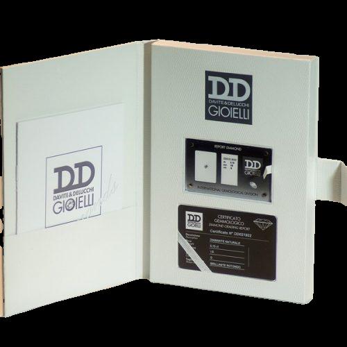 Diamante Sigillato Davite&Delucchi ct 0.08