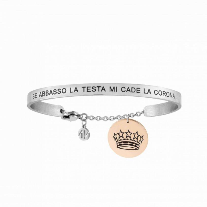 Bracciale Nomination Messaggiamo Corona