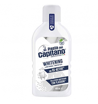 COLLUTORIO WHITENING 400 ML DENTI SENSIBILI. PASTA DEL CAPITANO.