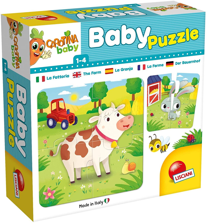 Carotina Baby Puzzle Fattoria