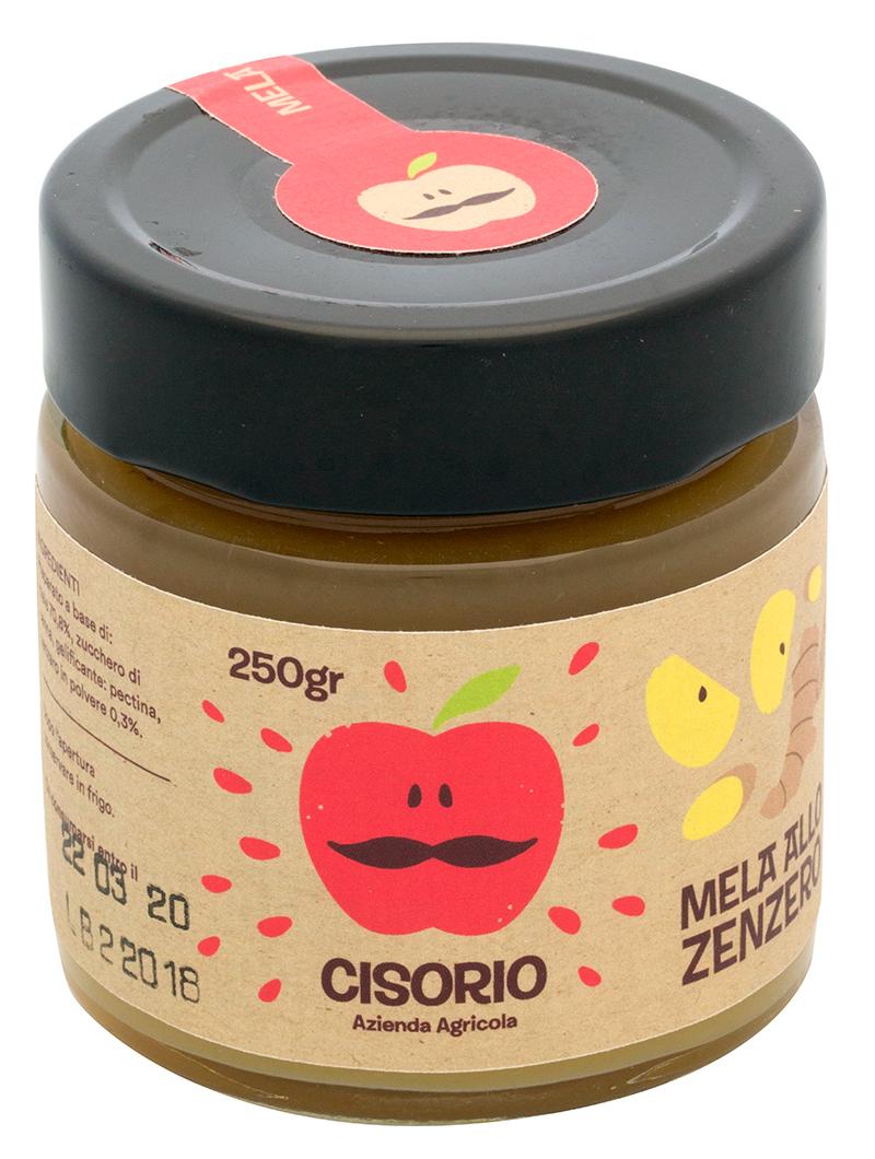 Composta mela e zenzero Cisorio