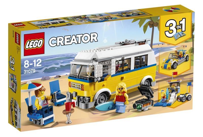 LEGO 31079 Surfer van giallo 31079 LEGO S.P.A.