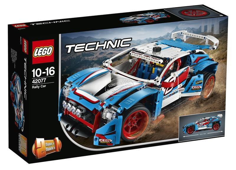 LEGO 42077 Auto da rally 42077 LEGO S.P.A.