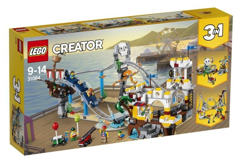 LEGO 31084 Friends Montagne Russe dei pirati 31084 LEGO S.P.A.