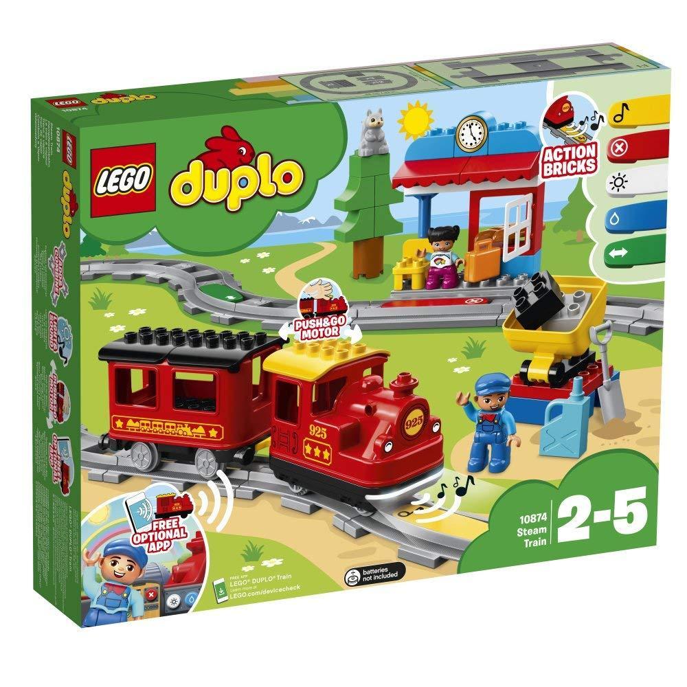 LEGO 10874 Treno a vapore 10874 LEGO S.P.A.
