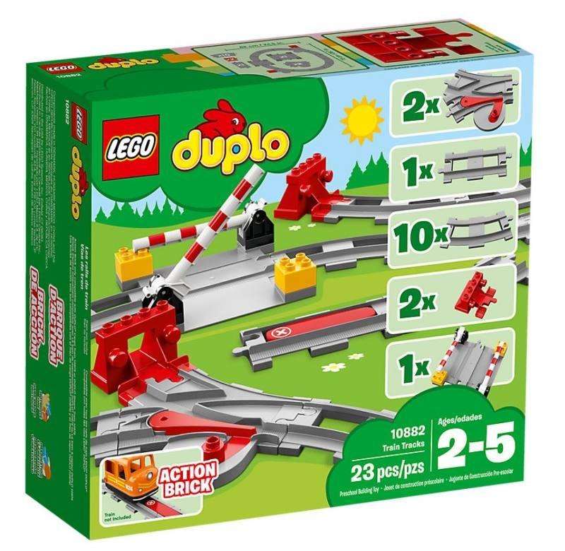 LEGO 10882 BINARI FERROVIARI 10882 LEGO S.P.A.