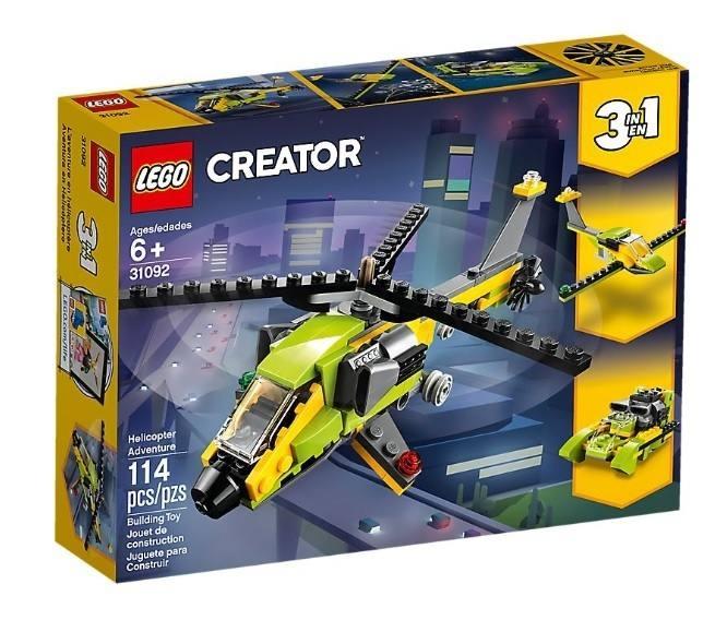 LEGO 31092 Avventura in elicottero 31092 LEGO S.P.A.