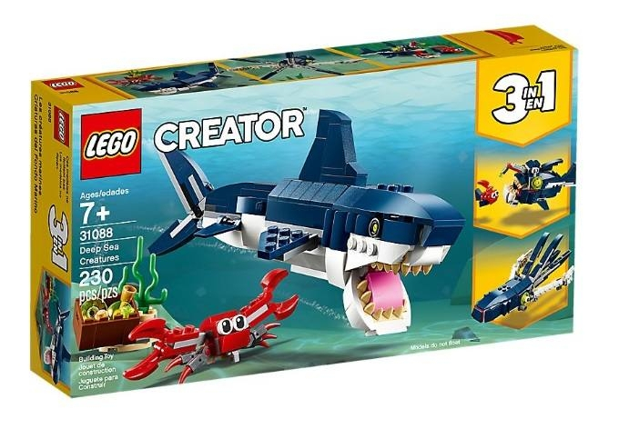 LEGO 31088 Creature degli abissi 31088 LEGO S.P.A.