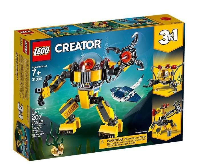 LEGO 31090 Robot sottomarino 31090 LEGO S.P.A.