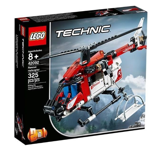 LEGO 42092 Technic Elicottero di salvataggio 42092 LEGO S.P.A.