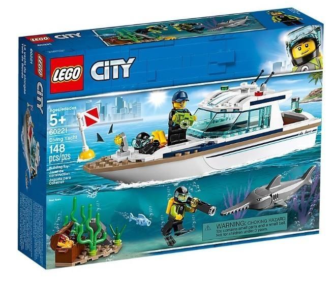 LEGO 60221 City Yacht per immersioni 60221 LEGO S.P.A.