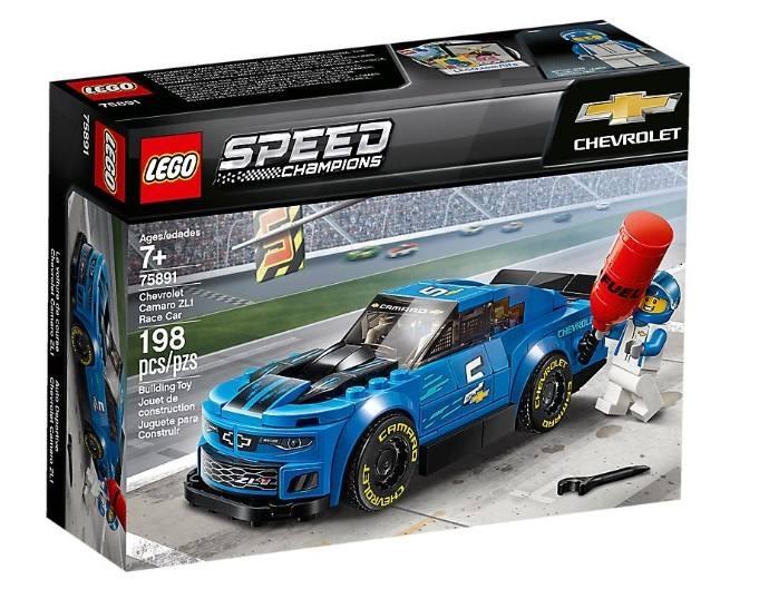 LEGO 75891 Auto da corsa Chevrolet Camaro ZL1 75891 LEGO S.P.A.