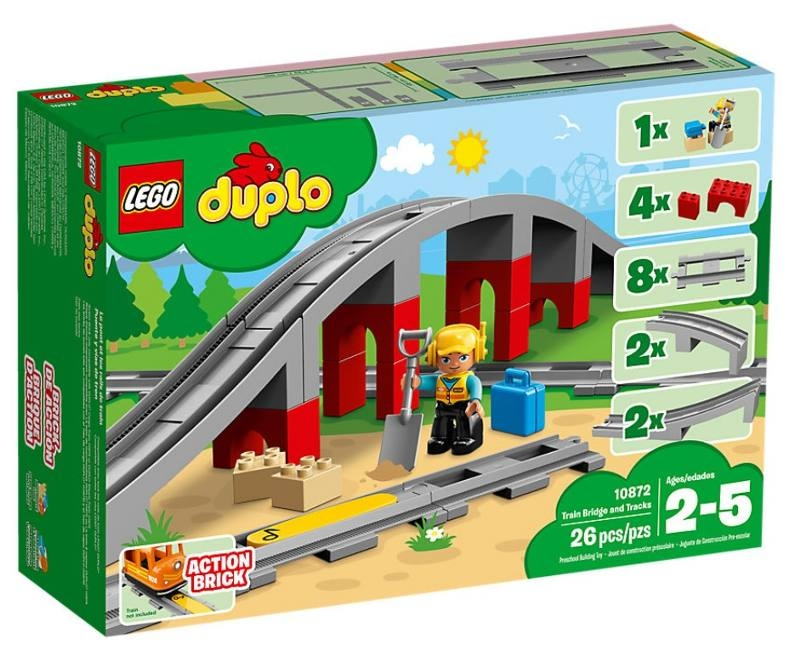 LEGO 10872 PONTE E BINARI FERROVIARI 10872 LEGO S.P.A.