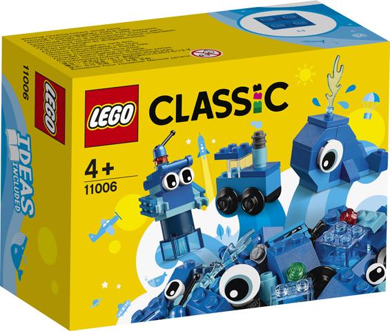 LEGO 11006 Mattoncini blu creativi 11006 LEGO S.P.A.