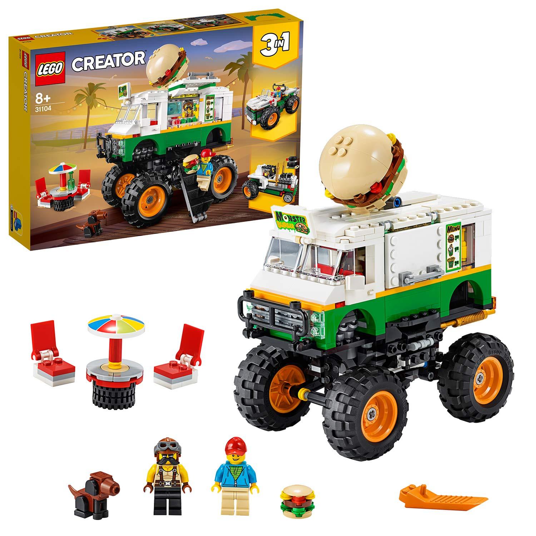 LEGO 31104 Monster Truck degli Hamburger 31104 LEGO S.P.A.