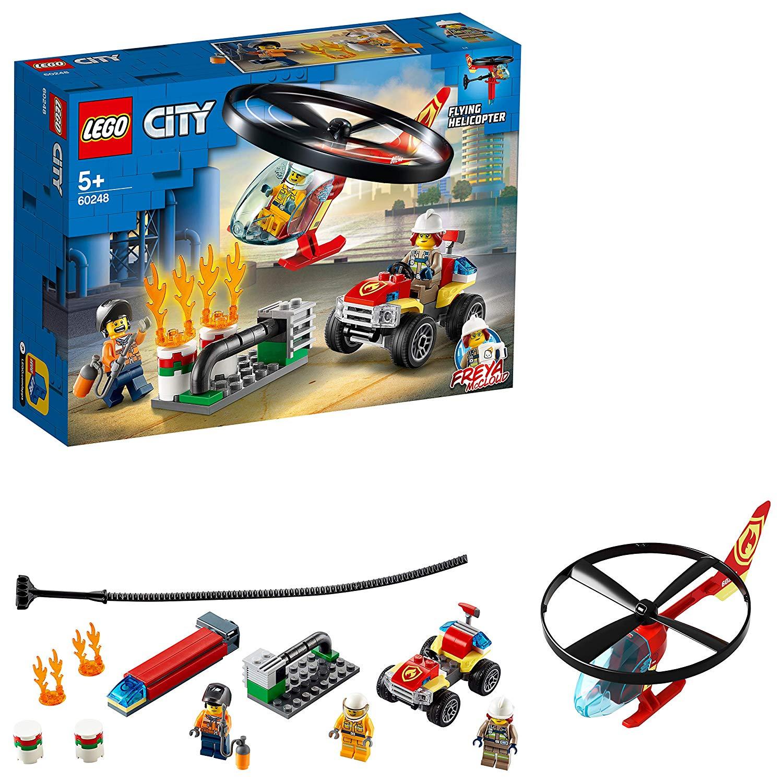 LEGO 60248 Elicottero dei pompieri 60248 LEGO S.P.A.
