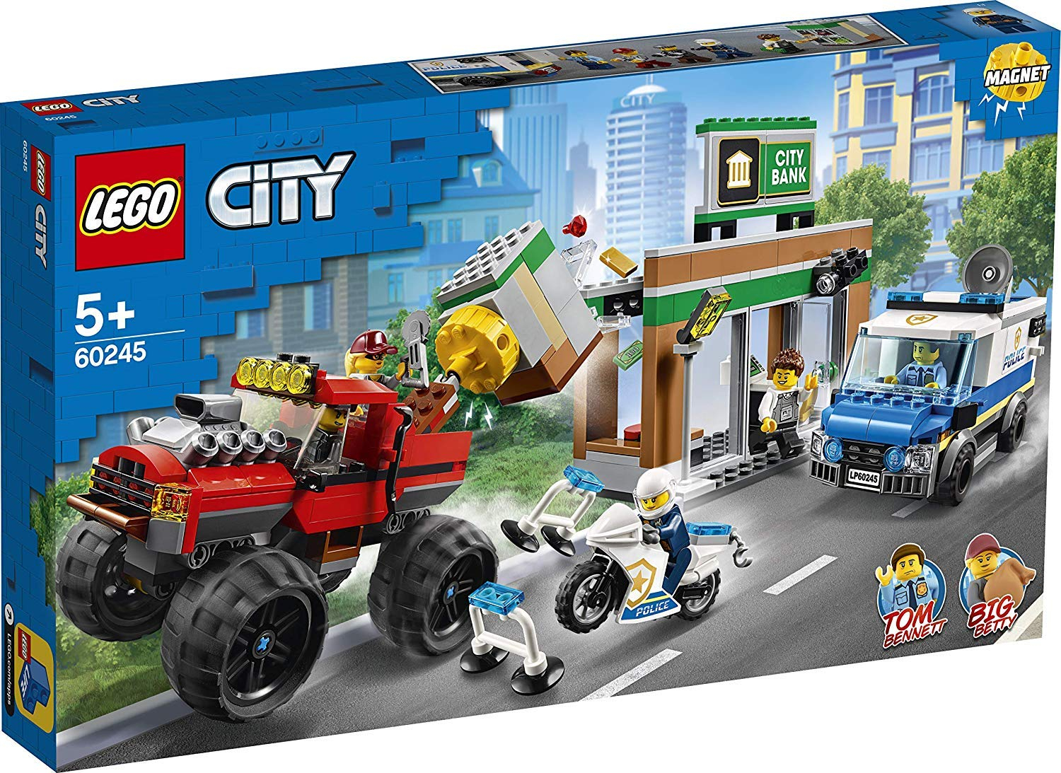 LEGO 60245 Rapina sul Monster Truck 60245 LEGO S.P.A.