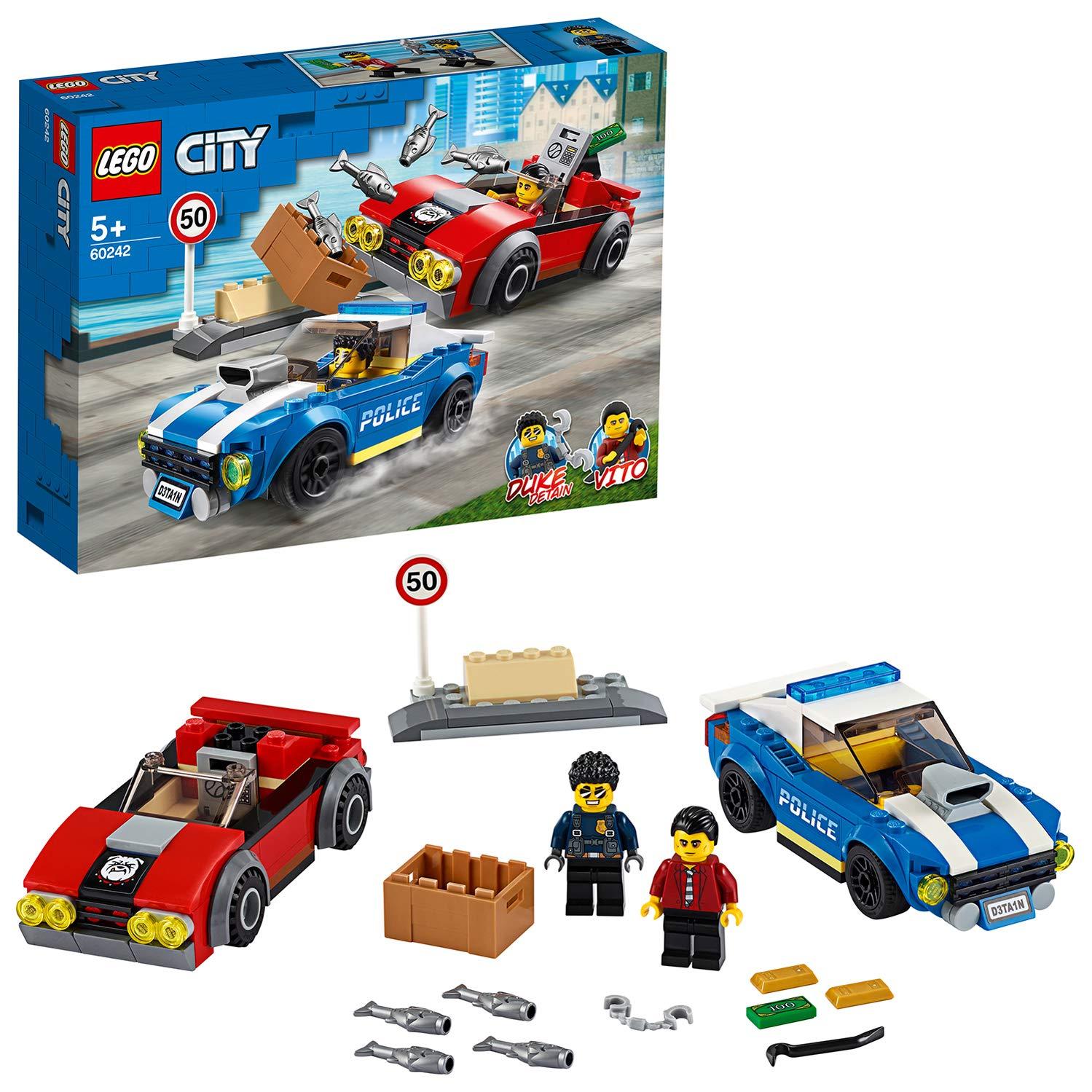 LEGO 60242 Arresto su strada della polizia 60242 LEGO S.P.A.
