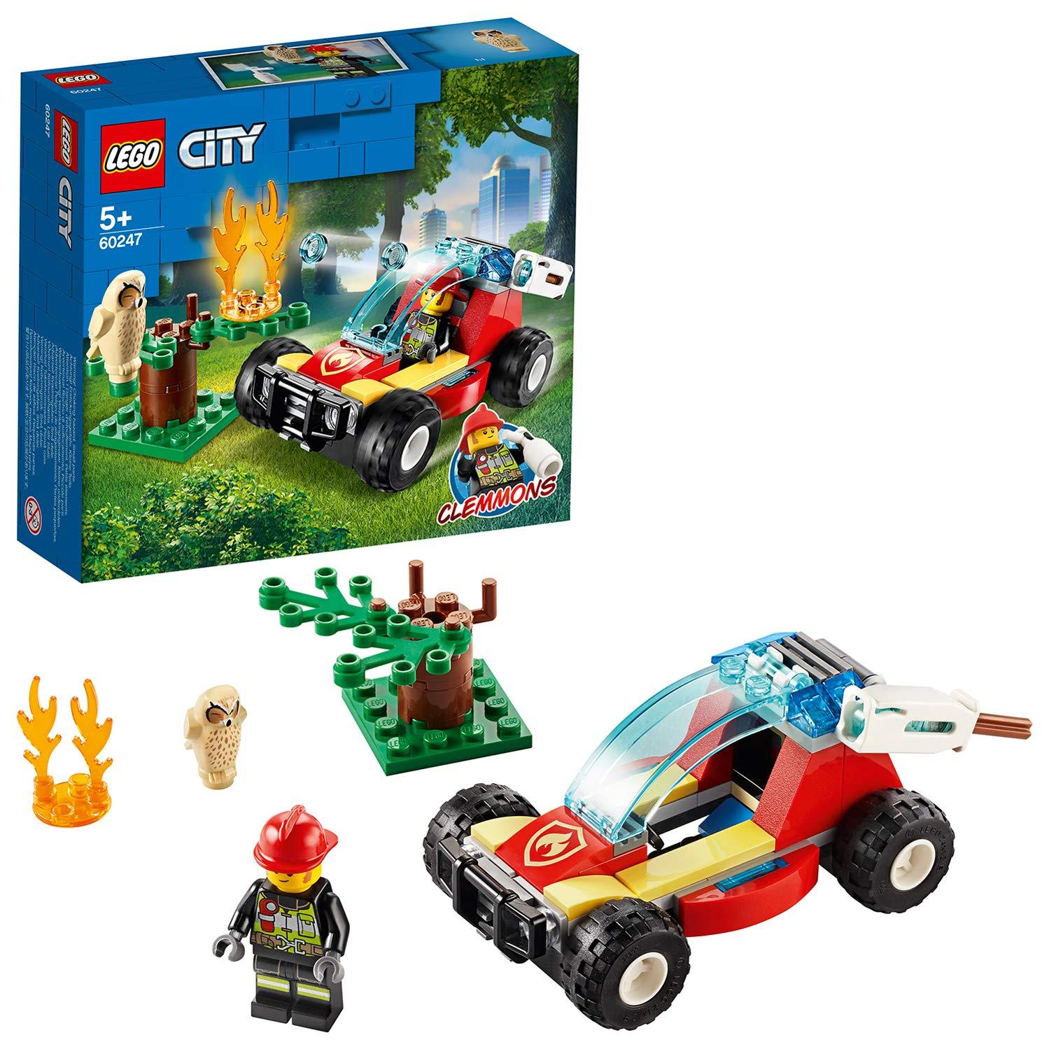 LEGO 60247 Incendio nella foresta 60247 LEGO S.P.A.