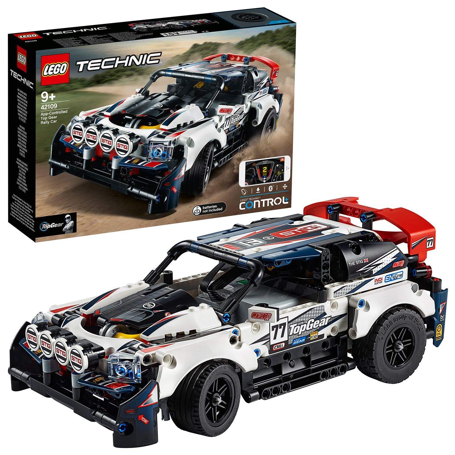 LEGO 42109 AUTO DA RALLY TOP 42109 LEGO S.P.A.