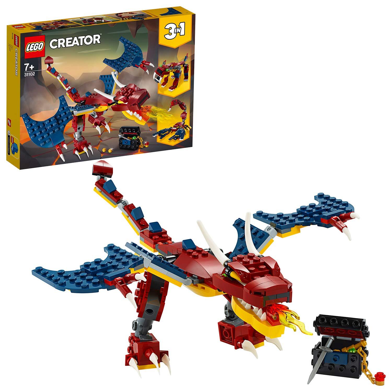 LEGO 31102 Drago del fuoco 31102 LEGO S.P.A.