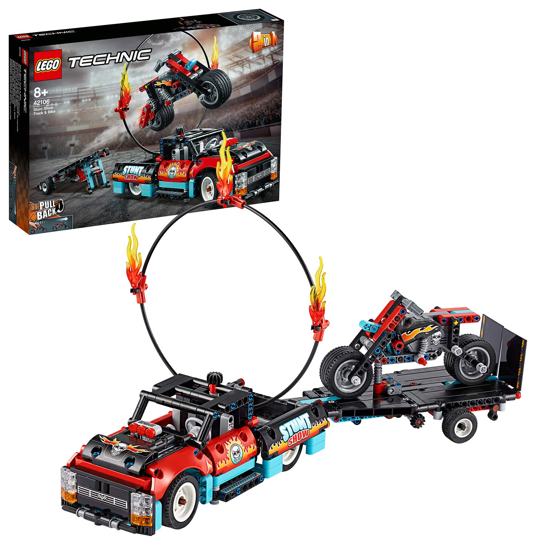 LEGO 42106 TRUCK E MOTO DELLO STUNT SHOW 42106 LEGO S.P.A.