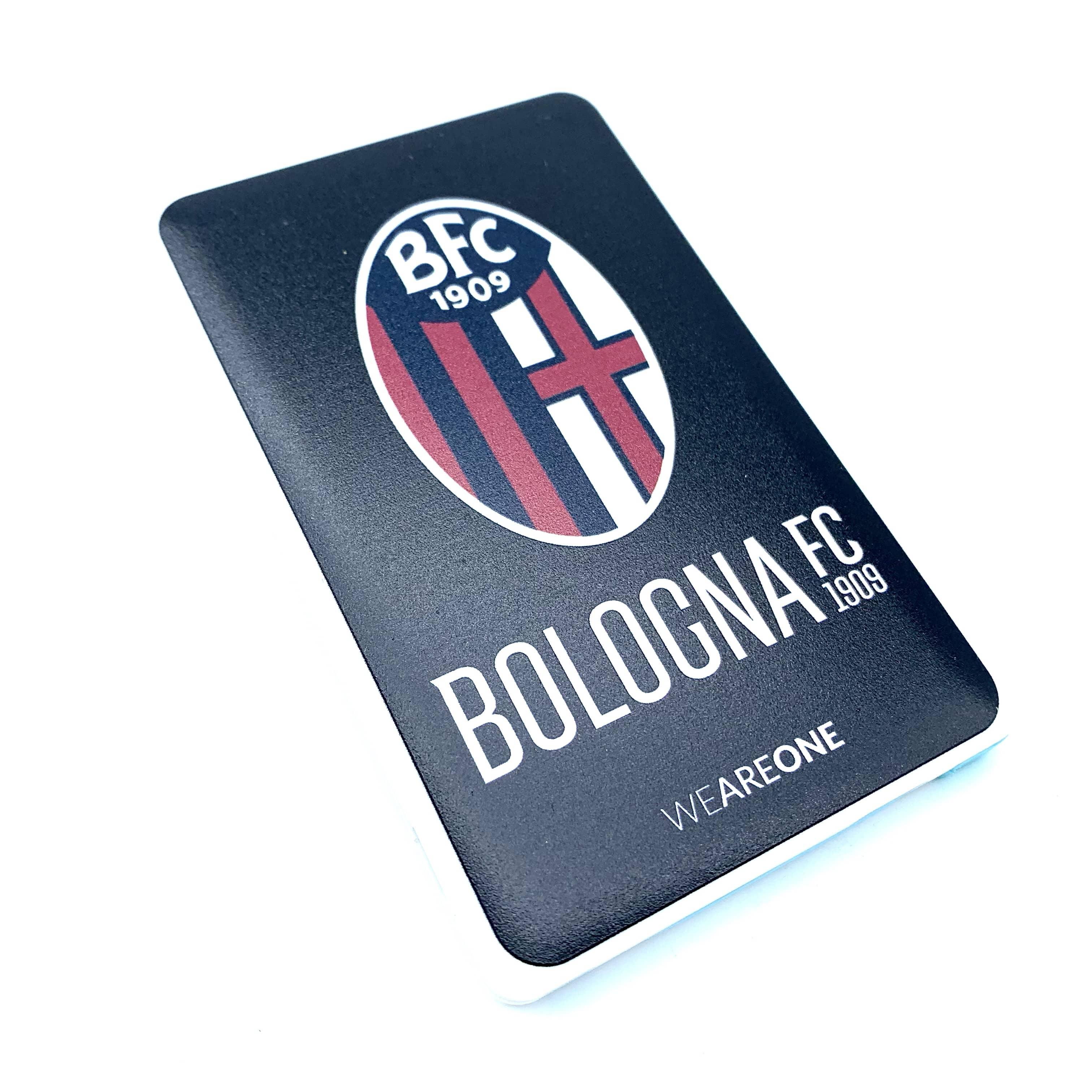 Bologna Fc POWER BANK SLIM OFFICIAL LOGO BLACK
