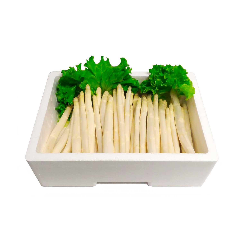 Asparago bianco del territorio Veneto sfuso in vaschetta 1kg