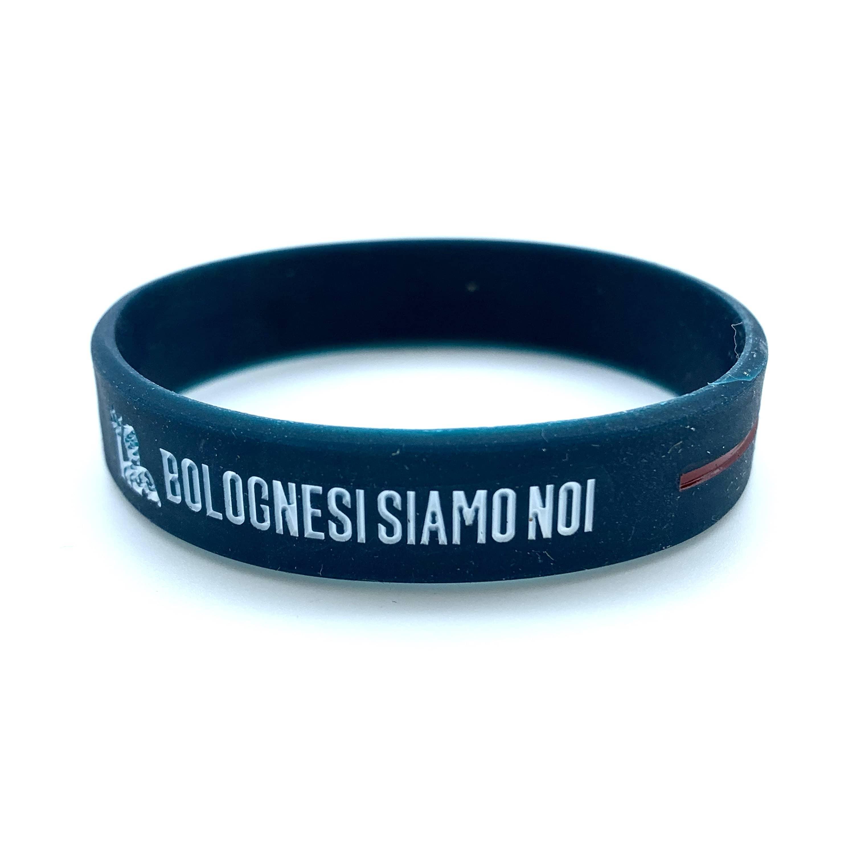 Bologna Fc BRACCIALETTO BOLOGNESI SIAMO NOI Adulto