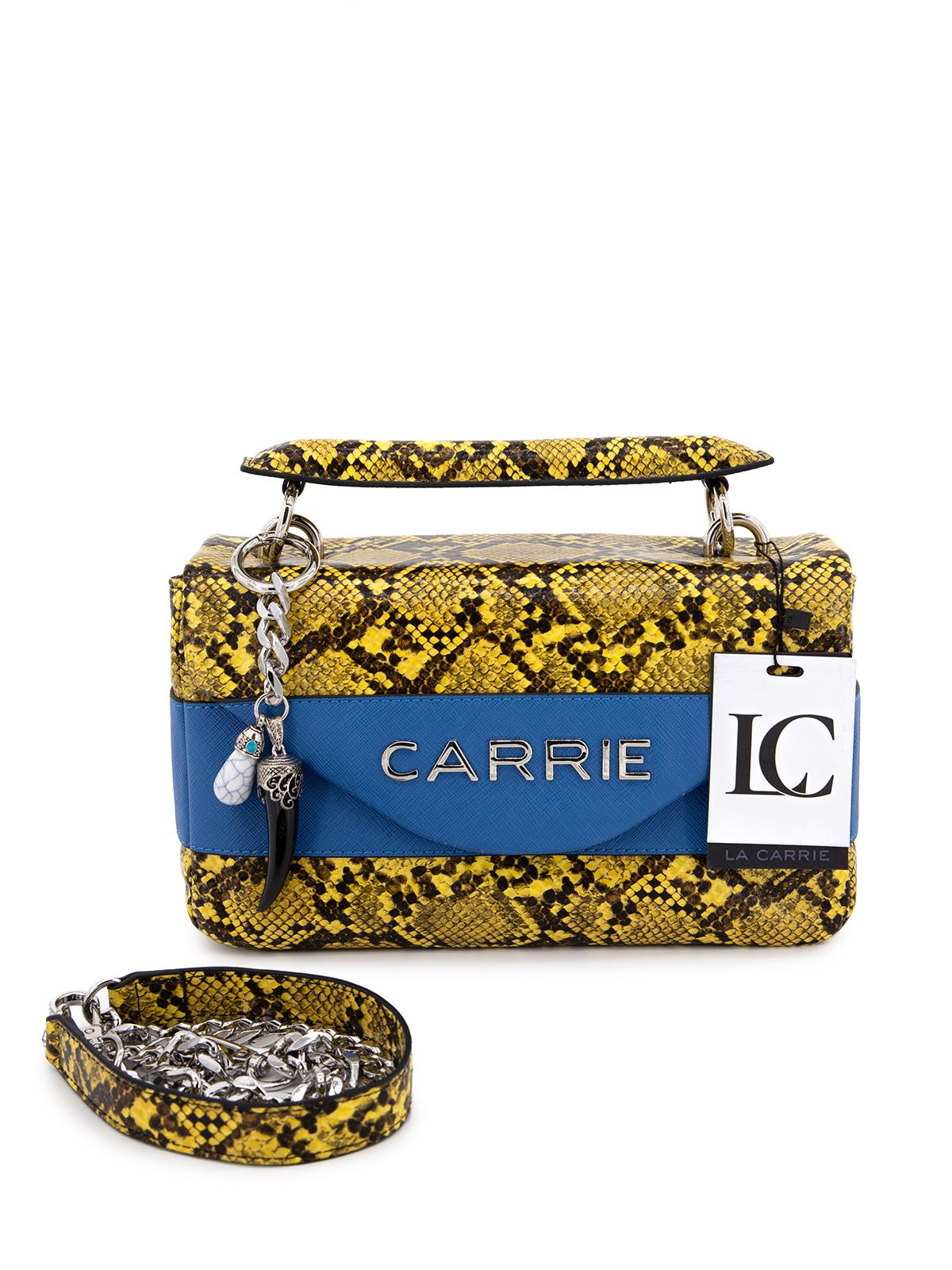 Borsa con un manico La Carrie 101M-L-500-SPE Blu