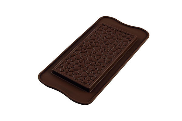 STAMPO IN SILICONE LOVE CHOCO BAR