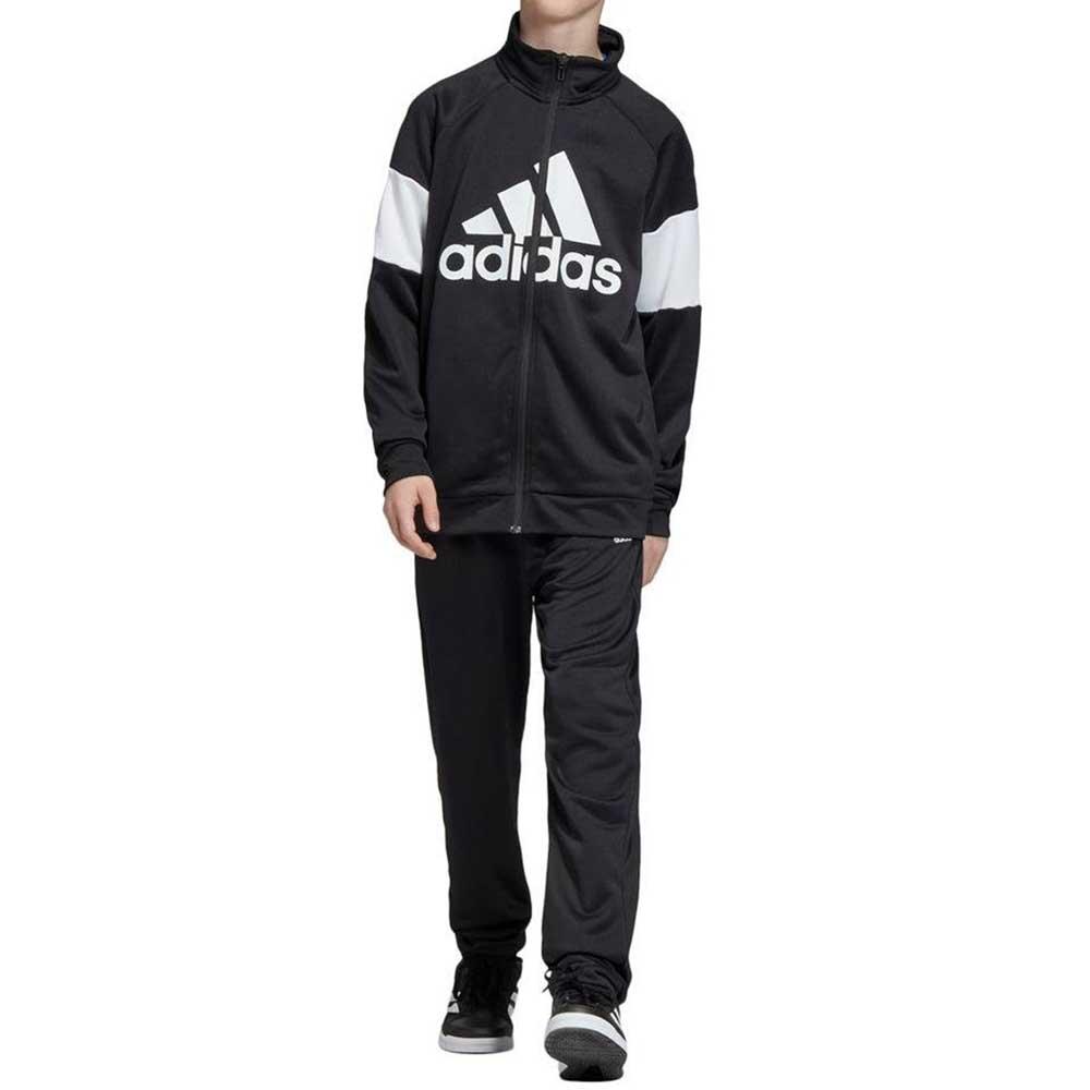 Adidas Tuta Completa Black/White da Bambino