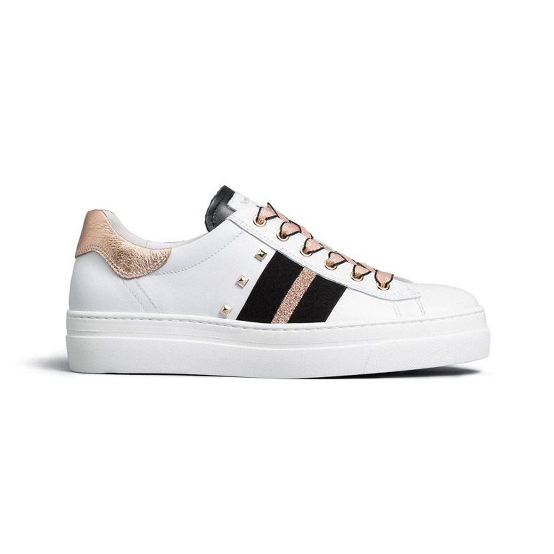 Sneaker bianca con fascia Nero Giardini
