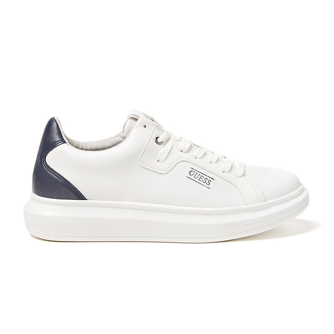 Sneaker bianca/blu Guess