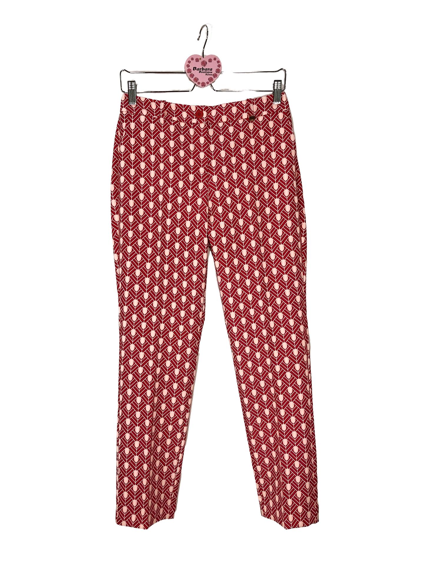 pantalone fantasia geometrica