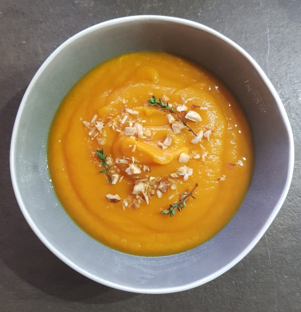 Vellutata di carote e batate