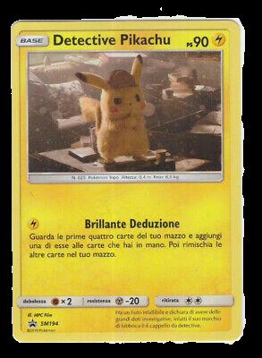 Pokèmon GCC: Detective Pikachu promo SM194 Holo mint