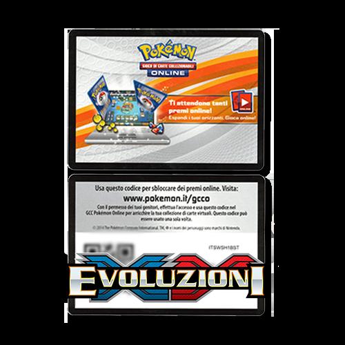Pokèmon codice GCC online: XY: Evoluzioni