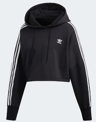 Felpa donna ADIDAS ORIGINALS CROPPED