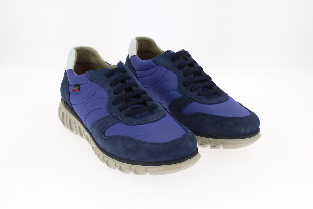 Callaghan - Calzatura sneakers sportiva in camoscio e nylon  plantare e suola beige  memory