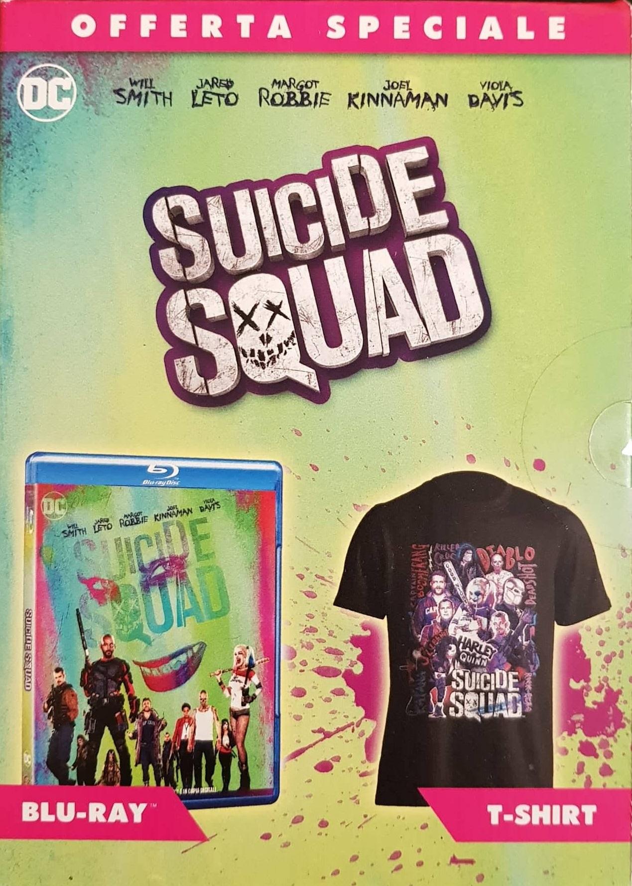 Suicide Squad- Edizione Speciale con T-Shirt (Blu-Ray)