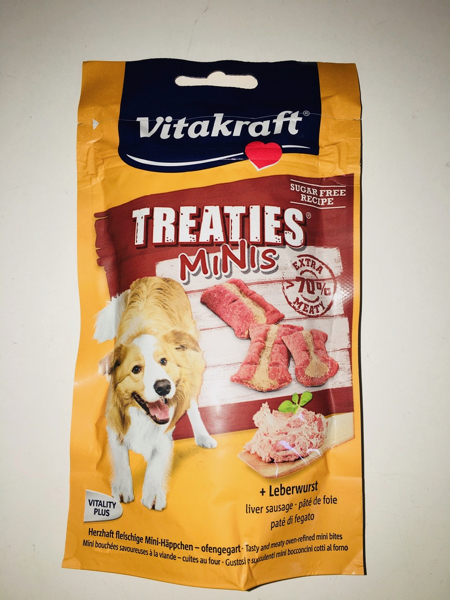 vitakraft Treaties minis patè di fegato