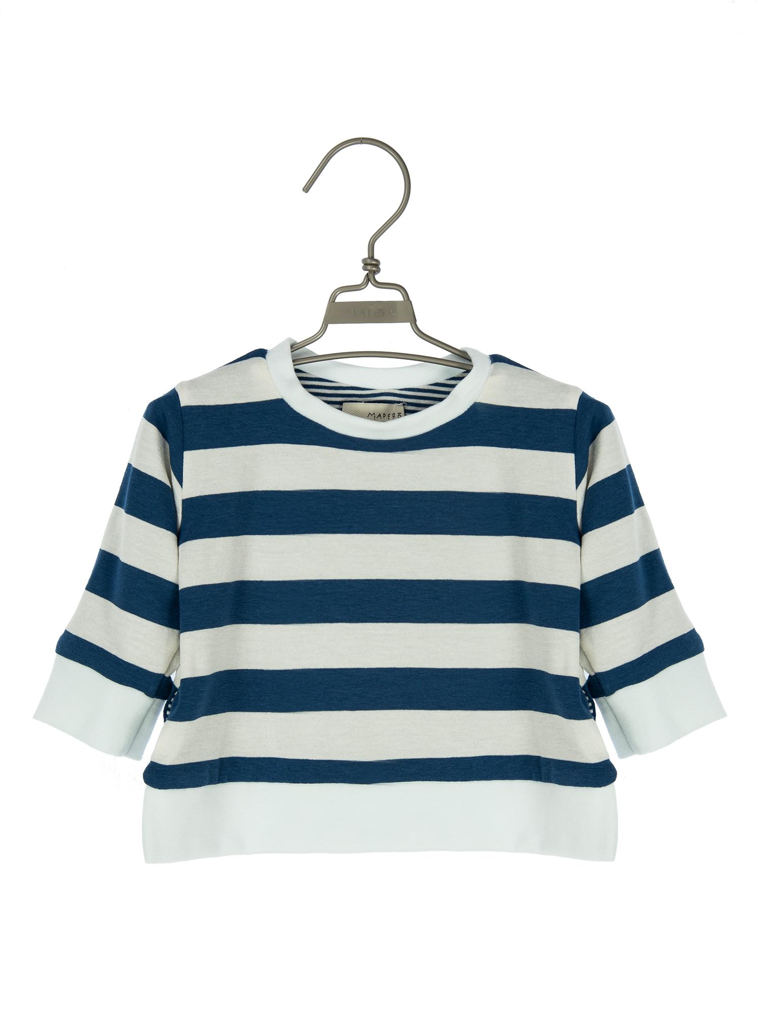maglia in jersey doubleface 3-36 mesi