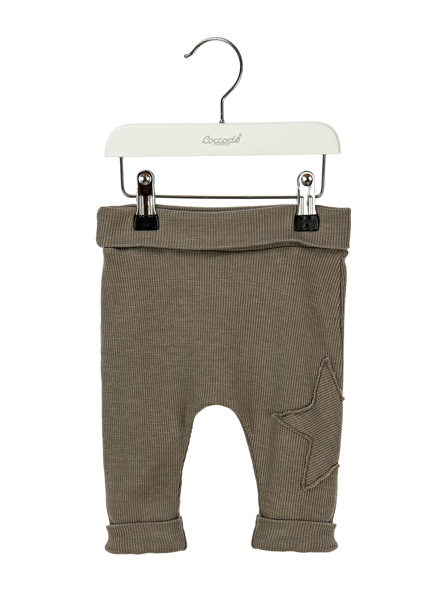 Pantalone lungo cotone operato 3-36 mesi Coccodè