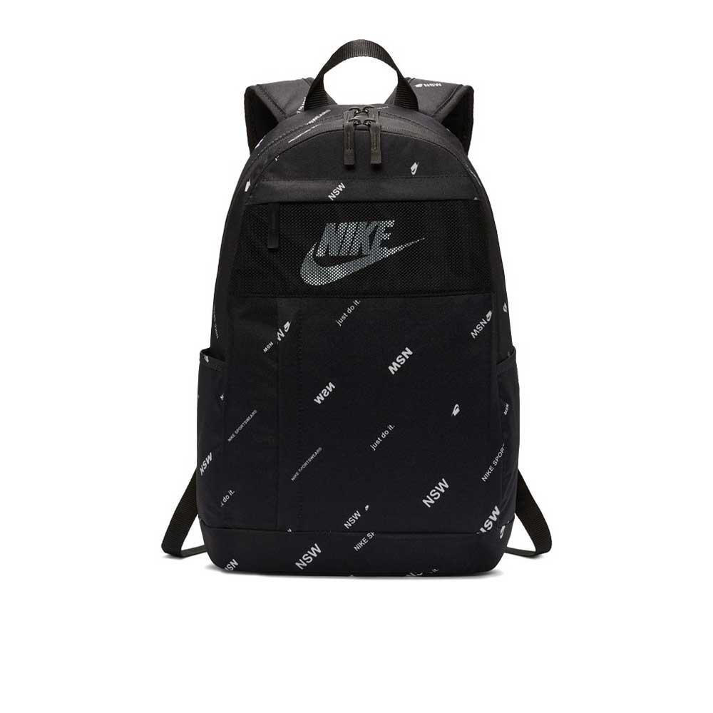 Zaino Nike Logo Black/White Unisex