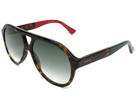 Gucci - Occhiale da Sole Unisex, Havana/Grey Shaded  GG0159S  004  C56