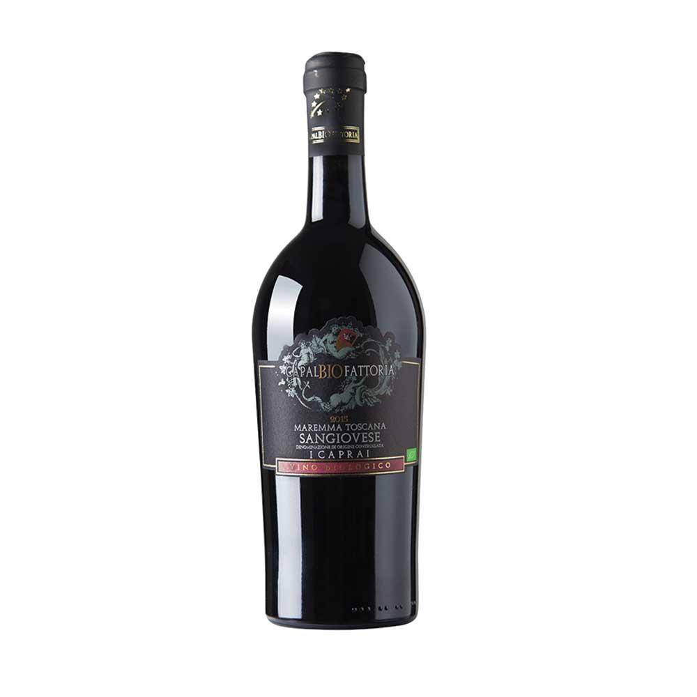 CapalBIO Fattoria Vino Rosso I Caprai Sangiovese 2015