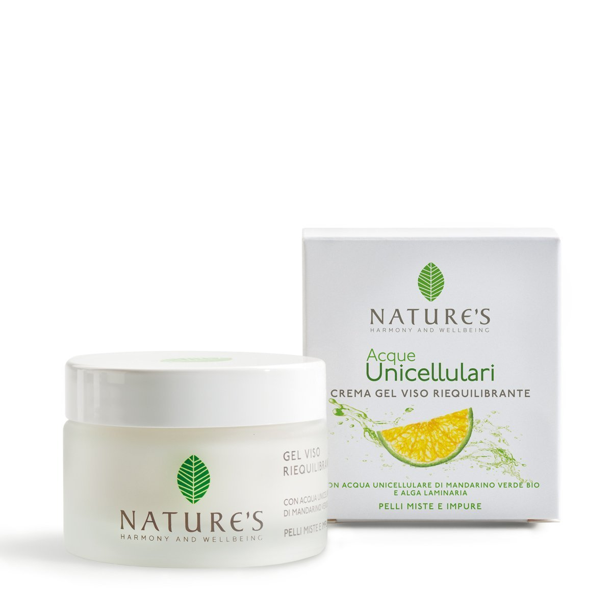 Crema Gel Viso Riequilibrante Acque Unicellulari 50 ml