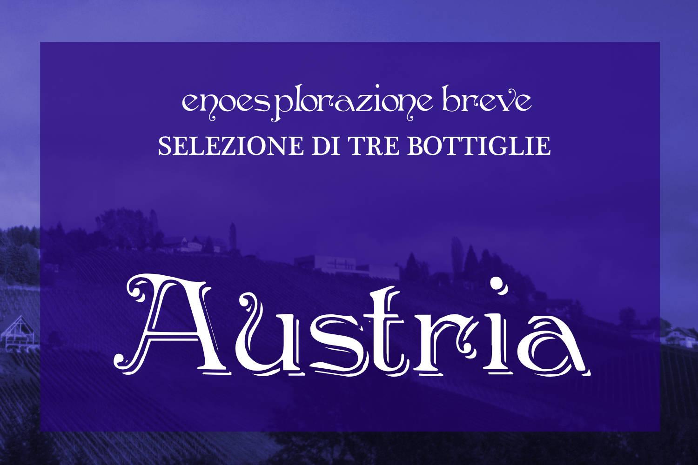 Selezione Austria: 3 vini